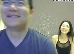 Chinese couple webcam fuck together u will hard-Free sign apropos handy AmateurAsia.com