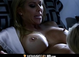 Step Sprog Together with Mummy Alexis Fawx