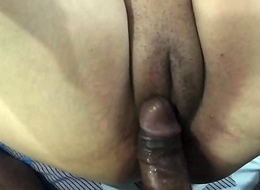 Desi tie the knot getting drilled and spreading pussy