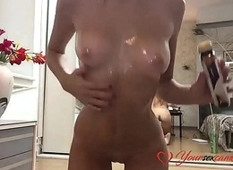 brutal sexy blonde from yoursexcam69com showing deficient keep