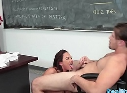 Unquestionable schoolgirl tastes teachers warm cum