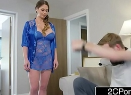 Angry Gamer Fucks His Stepmom Cathy Heaven