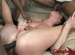 Cici Rhodes all her crevices fucked by BBC