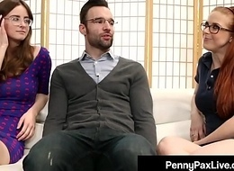 Nerdy Girls Penny Pax &amp_ Jay Taylor Acquire Banged By Alex Legend