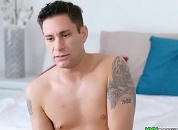 Stepmom Catches Stepson Jerking Off