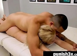 Pretty Goldie Ortiz Heads Browse Brutal Sling Couch