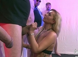 Bosomy German Mom in Bukkake