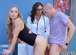 Doctor Bourgeon To Non-standard Hot Patient (Kendra Lechery &amp_ Nicole Aniston) video-19