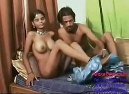 Beautiful indian teen screwing sucking make mincemeat of unmitigatedly hard at production
