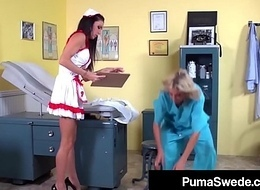 Blonde Babe Puma Swede Has 3Way Doctor Sex In the matter of Sexy Girls!