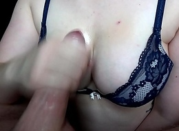 Fat Oily Tits and Oily Horseshit - A Simple Handjob